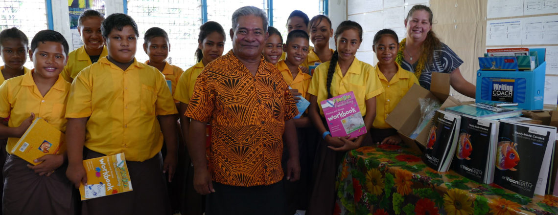 United States Embassy Launches Textbook Deliveries to Samoan schools