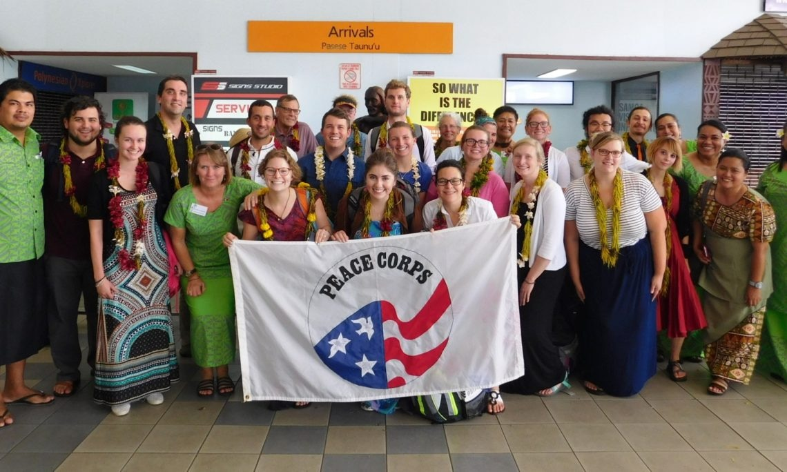 88th Group Of Peace Corps Volunteers Arrive In Samoa